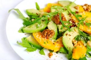 Mango Coconut Arugula Salad