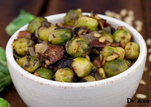 Turkey Bacon Brussels Sprouts